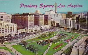 California Los Angeles Pershing Square Showing Biltmore Hotel 1903