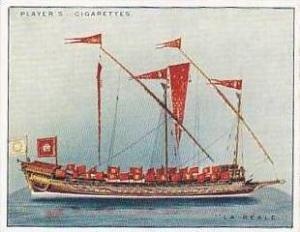Player Vintage Cigarette Card Ship Models 1926 No 10 La Reale French Admirals...