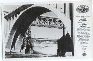 RPPC of Waterfall & Monroe Street Bridge Spokane Washington