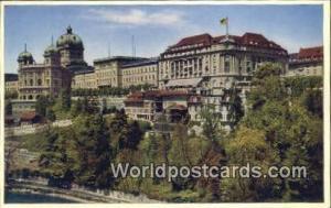 Swizerland, Schweiz, Svizzera, Suisse House of Parliament, Bellevue Palace Ho...
