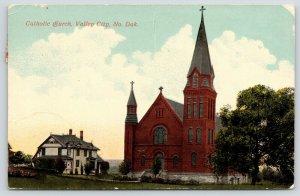 Valley City ND~Parsonage?~Roman Catholic Church We Were in Last Sunday~c1914 PC