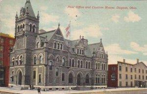 Ohio Dayton Post Office And Custom House 1911