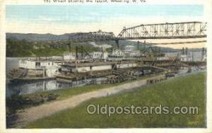 Helen B Ferry Boat, Ferries, Ship, Ships, Postcard Post Cards  Wheeling, West...