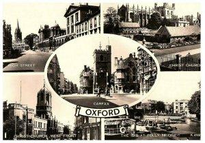 Grüße Aus Oxford England-Großbritannien RPPC Postkarte