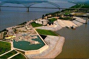 Tennessee Memphis Mud Island Northwest View