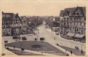 Perspective De L'Avenue Elisabeth, Hotel, Knocke-Zoute, Belgium, 1900-1910s