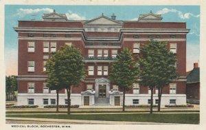 ROCHESTER, Minnesota, 1921; Medical Block