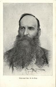 BOER WAR, Boer General Jacobus Herculaas de la Rey (1900)