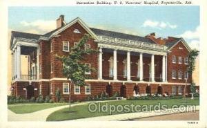 Medical Hospital, Sanitarium Postcard Postcards US Veterans Hospital, Fayette...