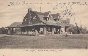 TOLEDO , Ohio, 1908 ; The Lodge , Ottawa Park
