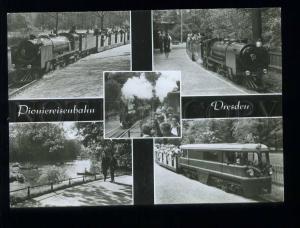 210000 GERMANY DRESDEN children Railways photo collage