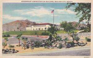 BOULDER CITY, Nevada, 30-40s; Government Administration Building