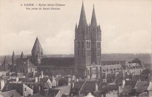 CAEN, Calvados, France, 1900-1910's; Eglise Saint-Etienne, Vue Prise De Saint...