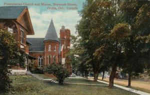 ORILLIA , Ontario , Canada , 1914 ; Presbyterian Church