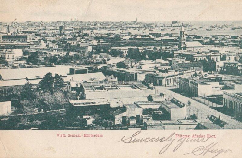 MONTEVIDEO ,  URUGUAY , 1907 ; Vista