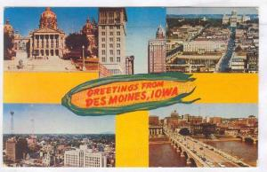 Greetings from Des Moines, Iowa, PU-1956