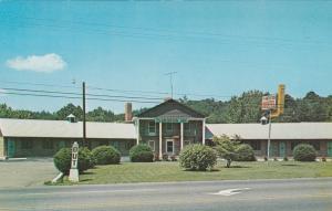 CANDLER, North Carolina, 1940-1960s; Plantation Motel & Restaurant