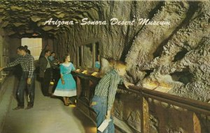 TUCSON, Arizona, 1940-60s; Underground Tunnel - Desert Museum