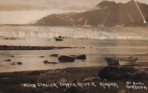 RP ; CORDOVA , Alaska , 1900-10s ; Miles Glacier