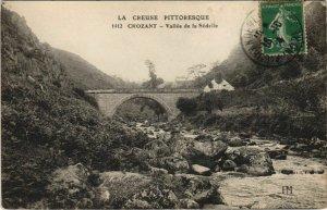 CPA CROZANT Vallee de la Sedelle (1144468)