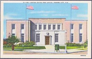 PANAMA CITY FL -  United States Post Office, 1930s