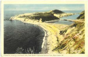 Presqu'ile, Cape Breton Highlands National Park, Nova Scotia, 1953 White Border