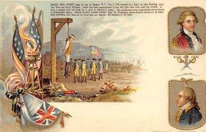 Maj. John Andre hung as spy, Tappan, New York October 2, 1780 History Unused