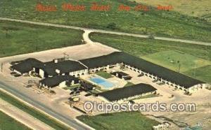 Oasis Motor Hotel, Bay City, TX, USA Motel Hotel Postcard Post Card Old Vinta...
