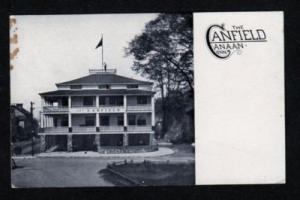CT The Canfield in CANAAN CONNECTICUT CONN Postcard PC