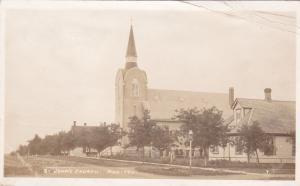 RP: St John's Church , MANITOU , Manitoba , Canada , PU-1914