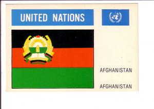 Afghanistan, Flag, United Nations