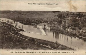 CPA AVANNE-AVENeY et la Vallee du Doubs - Environs de Besancon (1115138)