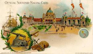 NY - Buffalo, 1901. Pan-American Exposition, U.S. Government Building. (Priva...
