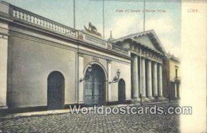 Casa del Senado y Bomba Roma Lima, Peru Unused