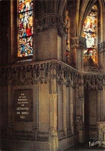 B110494 France Amboise Interieur de la Chapelle Saint-Hubert