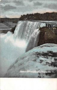 12434    Niagara Falls 1908   American Falls from Goat Island