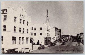 Coeur D'Alene ID~Wilma Theatre Razed 1997~Tower on Telephone Bldg~Hotel~1940s