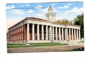 Sandusky County Court House, Fremont, Ohio, 1930-1940s