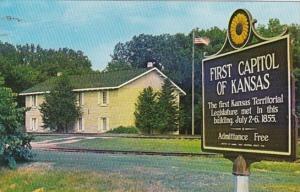 Kansas Fort Riley First Territorial Capitol Of Kansas