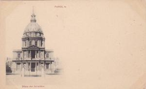 Dome Des Invalides, Paris, France, 1900-1910s