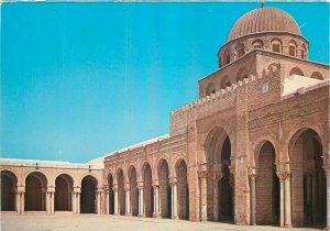 Tunisia Postcard Kairouan prayer ball exterior view