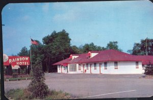 New Jersey GREEN BROOK TOWNSHIP Rainbow Hotel US Highway 22 - pm1954 1950s-1970s