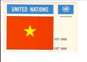 Viet Nam, Flag, United Nations,