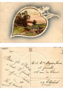 CPA Wenn die Linden bluh'n Meissner & Buch Litho Serie 1680 (730394)