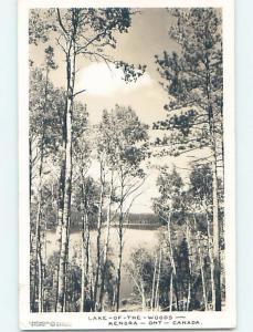 1948 rppc LAKE OF THE WOODS Kenora Ontario ON HM4241