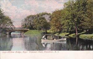 Rhode Island Providence Willow Bridge Roger Williams Park