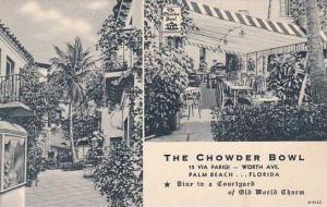 Florida Palm Beach Chowder Bowl Restaurant