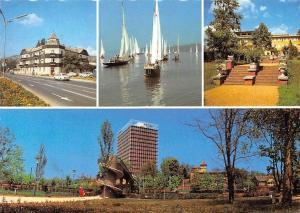 Hungary Balatonalmadi Lake Balaton Boats Bateaux Hotel