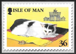 Isle of Man, Manx Cat stamp, unused