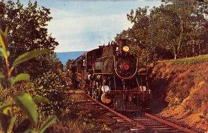 Crossing the Little Maiden Creek Pennsylvania Train Unused